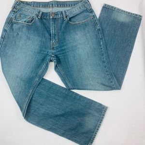 Levis 559 Mens Jeans 36 x 32 Blue Loose Straight